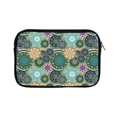 Flower Sunflower Floral Circle Star Color Purple Blue Apple Ipad Mini Zipper Cases by Alisyart