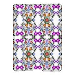 Floral Ornament Baby Girl Design Samsung Galaxy Tab S (10 5 ) Hardshell Case  by Amaryn4rt