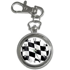 Flag Chess Corse Race Auto Road Key Chain Watches by Amaryn4rt