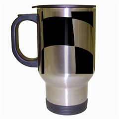 Flag Chess Corse Race Auto Road Travel Mug (silver Gray) by Amaryn4rt