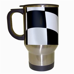 Flag Chess Corse Race Auto Road Travel Mugs (white) by Amaryn4rt