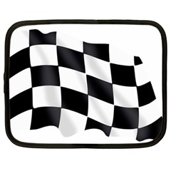 Flag Chess Corse Race Auto Road Netbook Case (large) by Amaryn4rt