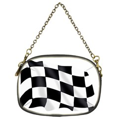 Flag Chess Corse Race Auto Road Chain Purses (one Side)  by Amaryn4rt