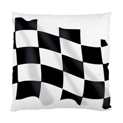 Flag Chess Corse Race Auto Road Standard Cushion Case (two Sides) by Amaryn4rt