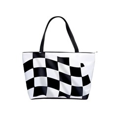 Flag Chess Corse Race Auto Road Shoulder Handbags by Amaryn4rt