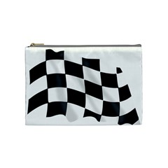 Flag Chess Corse Race Auto Road Cosmetic Bag (medium)  by Amaryn4rt