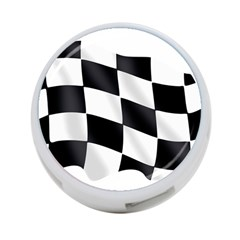 Flag Chess Corse Race Auto Road 4 Port Usb Hub (one Side) by Amaryn4rt