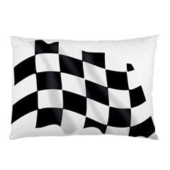 Flag Chess Corse Race Auto Road Pillow Case (two Sides) by Amaryn4rt