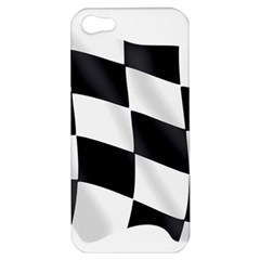 Flag Chess Corse Race Auto Road Apple Iphone 5 Hardshell Case by Amaryn4rt