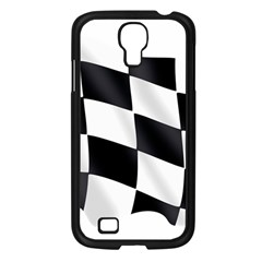 Flag Chess Corse Race Auto Road Samsung Galaxy S4 I9500/ I9505 Case (black) by Amaryn4rt