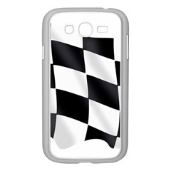 Flag Chess Corse Race Auto Road Samsung Galaxy Grand Duos I9082 Case (white) by Amaryn4rt