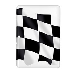 Flag Chess Corse Race Auto Road Samsung Galaxy Tab 2 (10 1 ) P5100 Hardshell Case  by Amaryn4rt