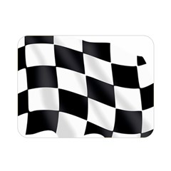 Flag Chess Corse Race Auto Road Double Sided Flano Blanket (mini)  by Amaryn4rt