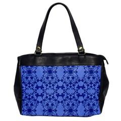 Floral Ornament Baby Boy Design Office Handbags by Amaryn4rt