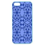 Floral Ornament Baby Boy Design Apple Seamless iPhone 5 Case (Color) Front