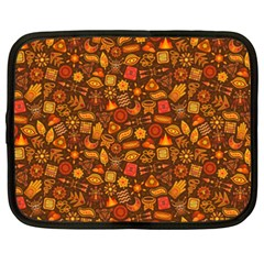 Pattern Background Ethnic Tribal Netbook Case (xxl)  by Amaryn4rt