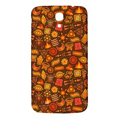 Pattern Background Ethnic Tribal Samsung Galaxy Mega I9200 Hardshell Back Case by Amaryn4rt