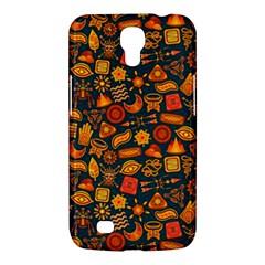 Pattern Background Ethnic Tribal Samsung Galaxy Mega 6 3  I9200 Hardshell Case by Amaryn4rt