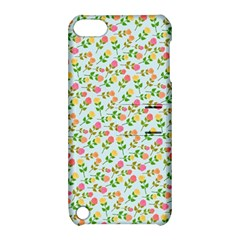 Flowers Roses Floral Flowery Apple Ipod Touch 5 Hardshell Case With Stand by Amaryn4rt