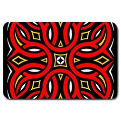 Traditional Art Pattern Large Doormat  by Amaryn4rt