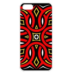 Traditional Art Pattern Apple Iphone 5 Seamless Case (white)