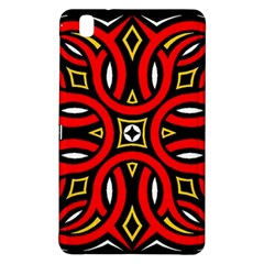 Traditional Art Pattern Samsung Galaxy Tab Pro 8 4 Hardshell Case by Amaryn4rt