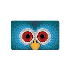 Bird Eyes Abstract Magnet (Name Card) by Amaryn4rt