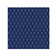 Anchor Pattern Small Satin Scarf (square) by Amaryn4rt
