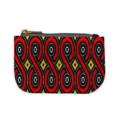 Toraja Traditional Art Pattern Mini Coin Purses