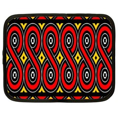 Toraja Traditional Art Pattern Netbook Case (xxl)  by Amaryn4rt