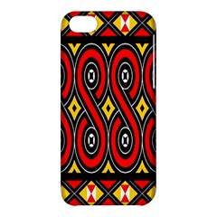 Toraja Traditional Art Pattern Apple Iphone 5c Hardshell Case by Amaryn4rt
