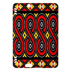 Toraja Traditional Art Pattern Kindle Fire Hdx Hardshell Case