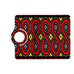 Toraja Traditional Art Pattern Kindle Fire Hd (2013) Flip 360 Case by Amaryn4rt