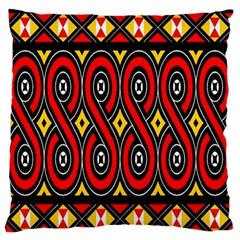 Toraja Traditional Art Pattern Standard Flano Cushion Case (One Side) by Amaryn4rt
