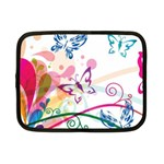 Butterfly Vector Art Netbook Case (Small)  Front