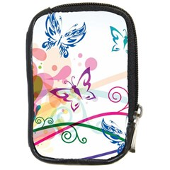 Butterfly Vector Art Compact Camera Cases by Amaryn4rt