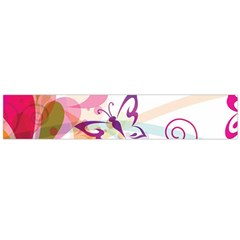 Butterfly Vector Art Flano Scarf (large) by Amaryn4rt