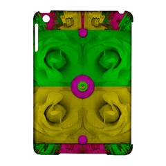 Roses Of Pure Love Apple Ipad Mini Hardshell Case (compatible With Smart Cover) by pepitasart
