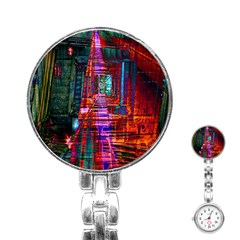 City Photography And Art Stainless Steel Nurses Watch by Amaryn4rt