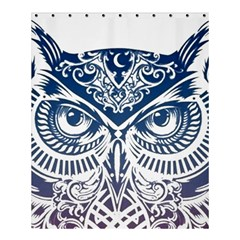 Owl Shower Curtain 60  X 72  (medium)  by Amaryn4rt