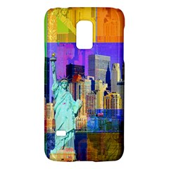 New York City The Statue Of Liberty Galaxy S5 Mini by Amaryn4rt