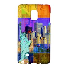 New York City The Statue Of Liberty Galaxy Note Edge by Amaryn4rt