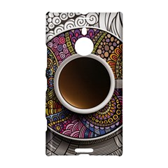 Ethnic Pattern Ornaments And Coffee Cups Vector Nokia Lumia 1520 by Amaryn4rt