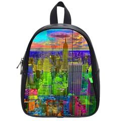 New York City Skyline School Bags (small)
