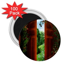 Beautiful World Entry Door Fantasy 2 25  Magnets (100 Pack)  by Amaryn4rt