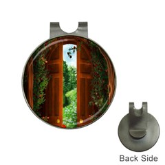Beautiful World Entry Door Fantasy Hat Clips With Golf Markers by Amaryn4rt