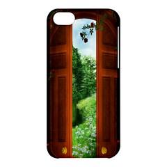 Beautiful World Entry Door Fantasy Apple Iphone 5c Hardshell Case by Amaryn4rt