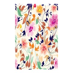 Vector Floral Art Shower Curtain 48  X 72  (small)  by Amaryn4rt