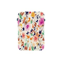 Vector Floral Art Apple Ipad Mini Protective Soft Cases by Amaryn4rt
