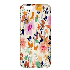Vector Floral Art Apple Iphone 6 Plus/6s Plus Hardshell Case by Amaryn4rt